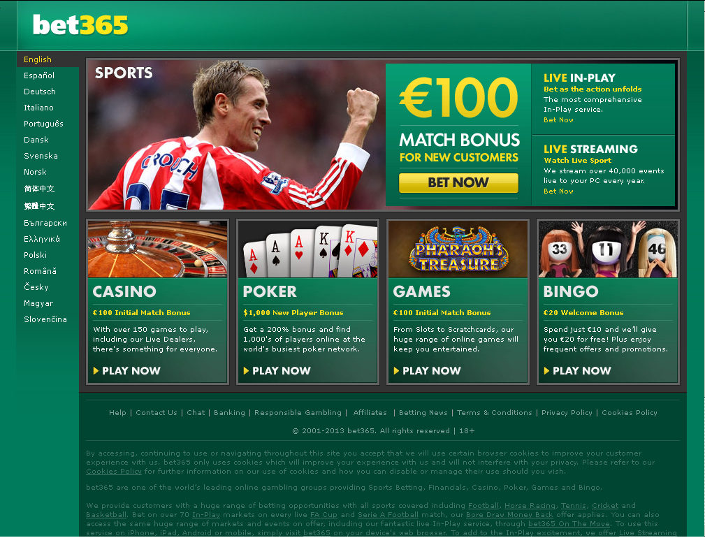 bet365 full site login